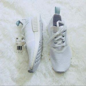 """Adidas NMD """"Running White"""" 8.5 NEW"""